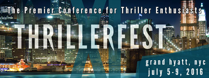 Visit the Thrillerfest website for all the details about our next conference!